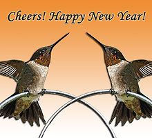 Happy New Year  by Bonnie T.  Barry