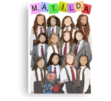 The Broadway Matildas Canvas Print
