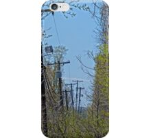 Telephone Poles iPhone Case/Skin