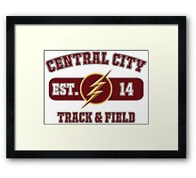 Central City Track & Field Framed Print