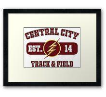 Central City Track & Field Framed Print