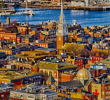 Old North Church , North End, Boston MA by LudaNayvelt