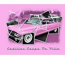 Cadillac Photo Montage Photographic Print