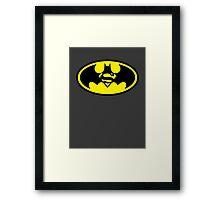 Batman vs. Superman Framed Print