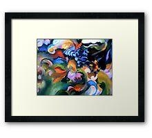 Birth of the Garden Framed Print