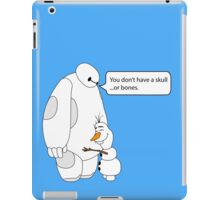 Baymax and Olaf iPad Case/Skin