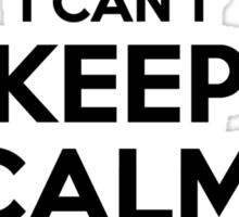 I cant keep calm Im a CASIMIR Sticker