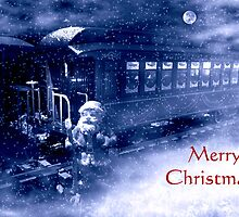 Santa's On The Move by Steven  Agius