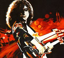 Jimmy Page by ArtspaceTF