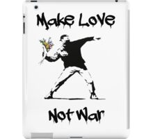Make Love, Not War iPad Case/Skin