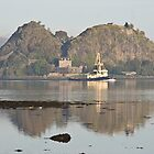 Dumbarton Rock by Ian Johnston