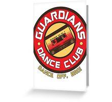 Galaxy Dance Club Greeting Card