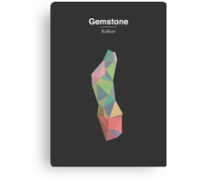 Gemstone - Kaiburr Canvas Print