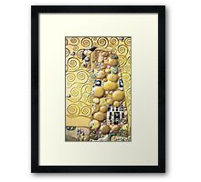 My Klimt Embrace Framed Print