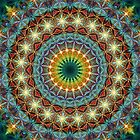Beautiful Pattern Kaleidoscope 01 by fantasytripp