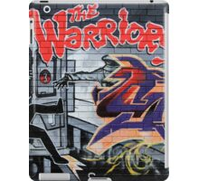 Street Art: global edition # 44 - Who are the Warriors? iPad Case/Skin