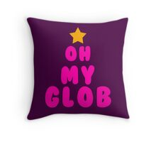 Oh my glob, adventure time Throw Pillow