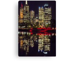 Angel on the Yarra Canvas Print