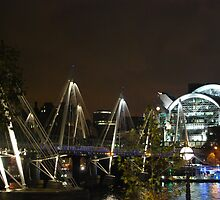 Waterloo at night by Zoltan