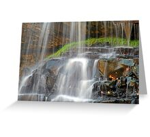 The Water is Falling Greeting Card