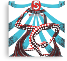 S is for the Show Canvas Print