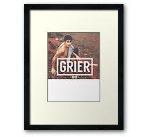 Grier Framed Print