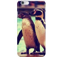 Penguin Parade at London Zoo  iPhone Case/Skin