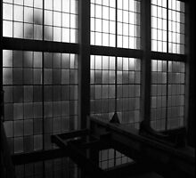 Urban Landscape # 4 Casula Powerhouse Window by Juilee  Pryor