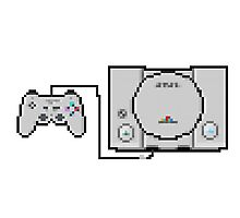 Playstation Sprite - Love the first generation! Photographic Print