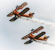 Breitling Wing Walker duo by Dean Messenger