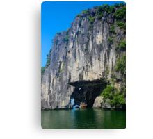 The Stone Arch - Ha Long Bay, Vietnam. Canvas Print