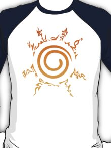 Naruto Kyuubi Seal (Orange Gradient) T-Shirt