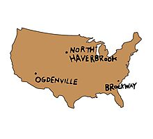Ogdenville, North Haverbrook and Brockway Photographic Print