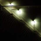 Stairs Around Tank by Lanny Edey
