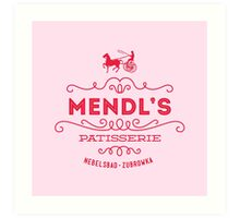 Mendl's Patisserie Art Print