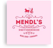 Mendl's Patisserie Canvas Print