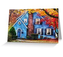 Little dream house  Greeting Card
