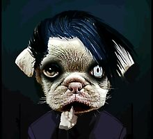 pug manson by darklordpug