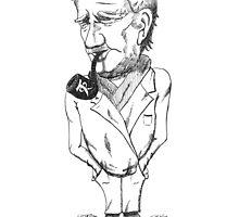 Tolkien Caricature by fullpruf