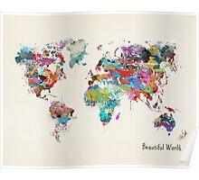 a beautiful world Poster