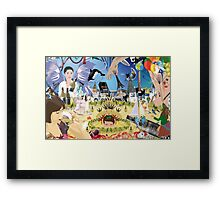 BACCHUS' KINGDOM Framed Print