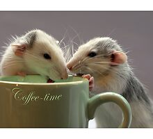 Coffee together :) by Ellen van Deelen