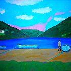 Lough Nafooey by Joni Philbin