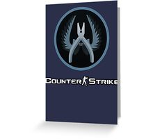 Counter Strike Defuser Greeting Card