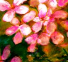Flowers..Geranium Sticker