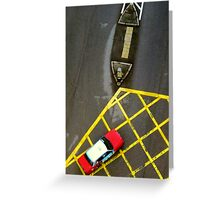 Taxi © Greeting Card