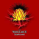 Scottish Thistle - Clan Wallace by eyemac24