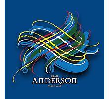 Anderson Tartan Twist Photographic Print