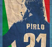 Andrea Pirlo by johnsalonika84