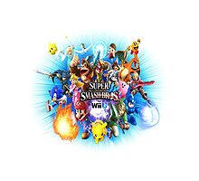 Smash Bros WII U TWIN Size Duvet Cover-Other Sizes on my Page! (+Others!) by TomsTops